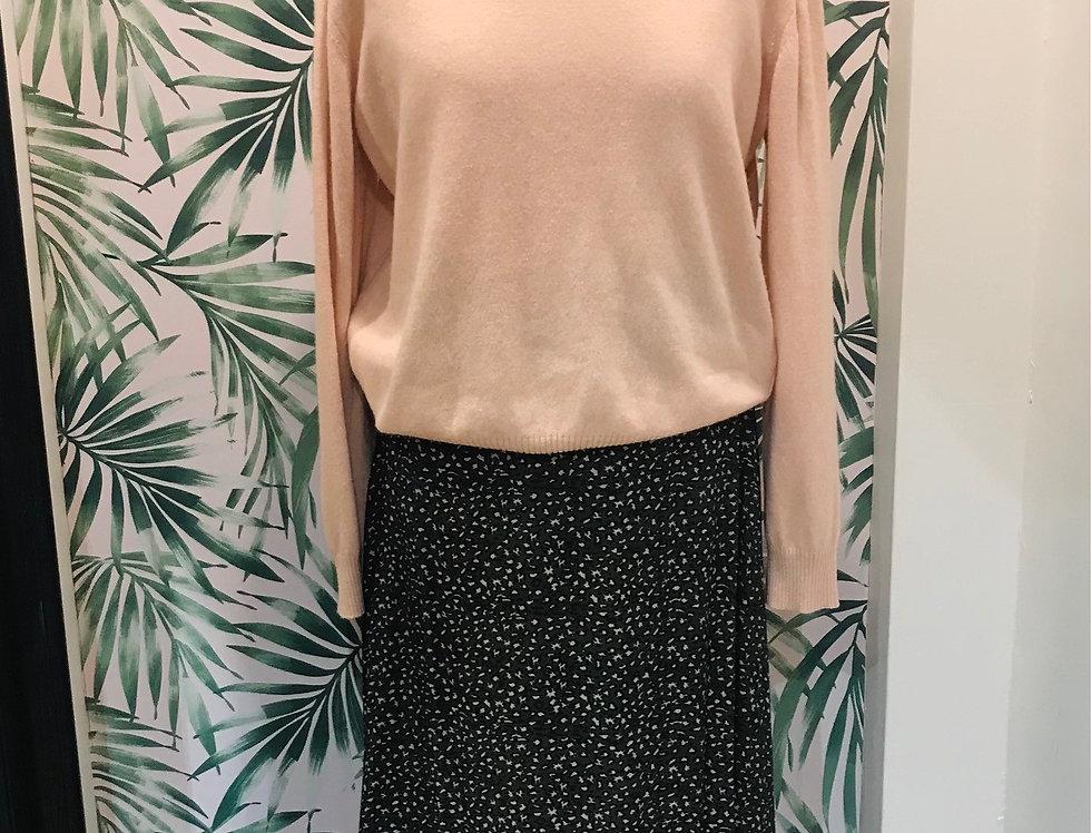 Khaki Print Skirt