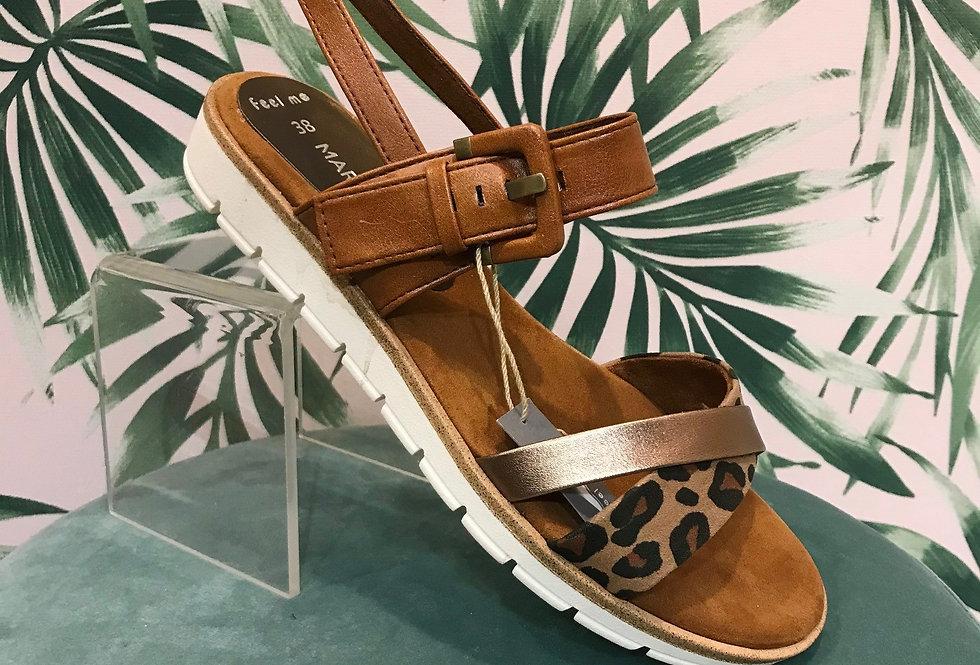 Tan Leather Sandal