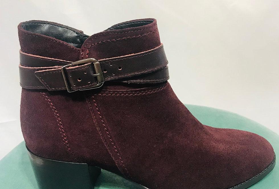 Bordeaux Suede Boot