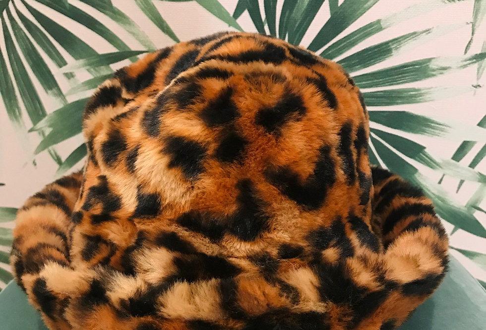 Leopard Fur Hat