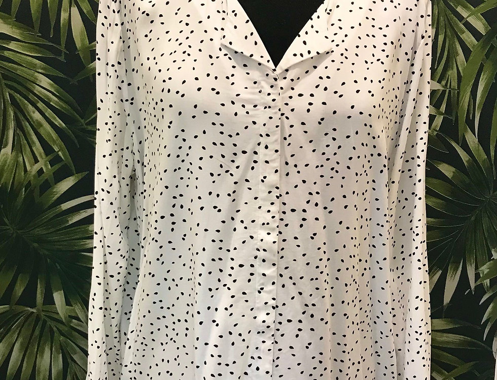 Spotted Blouse