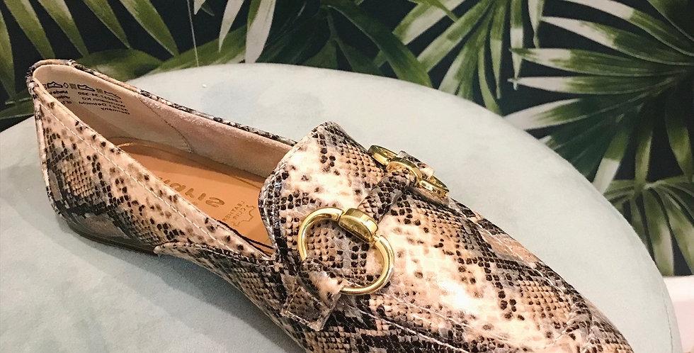 Snake Print Loafer