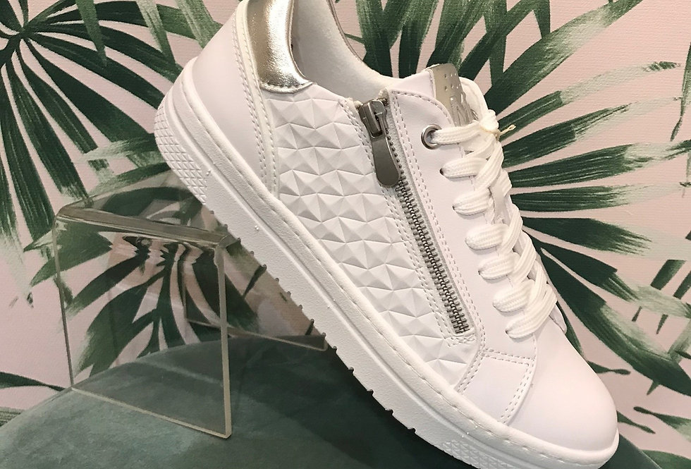 Funky White Trainer
