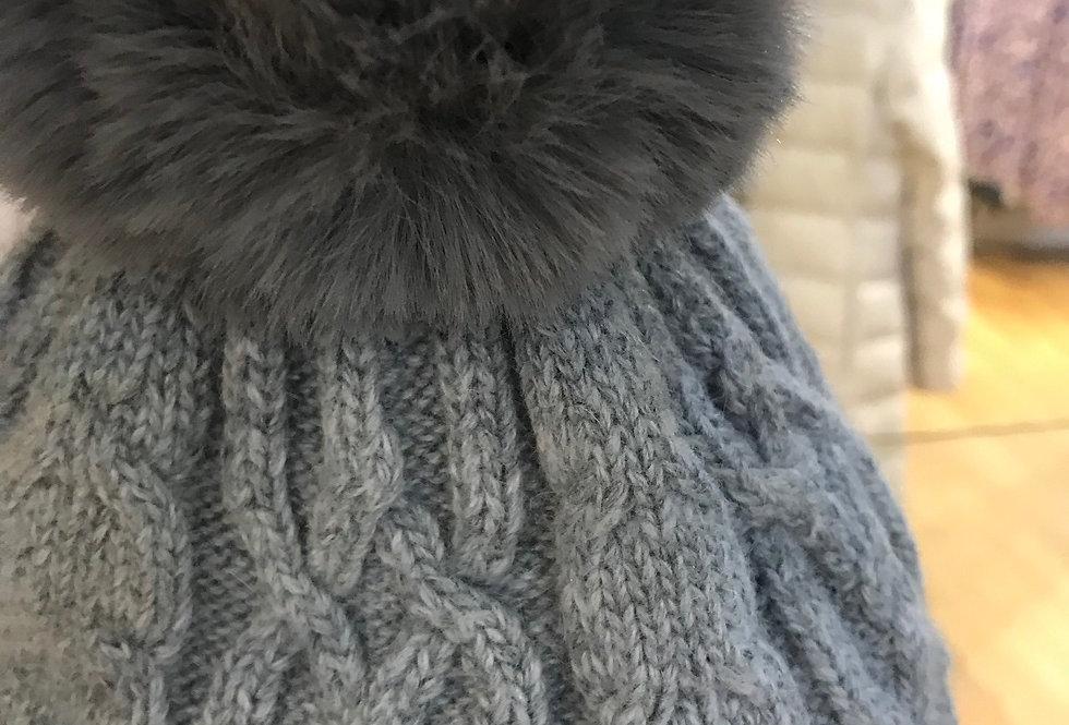 Cashmere Bobble Hat
