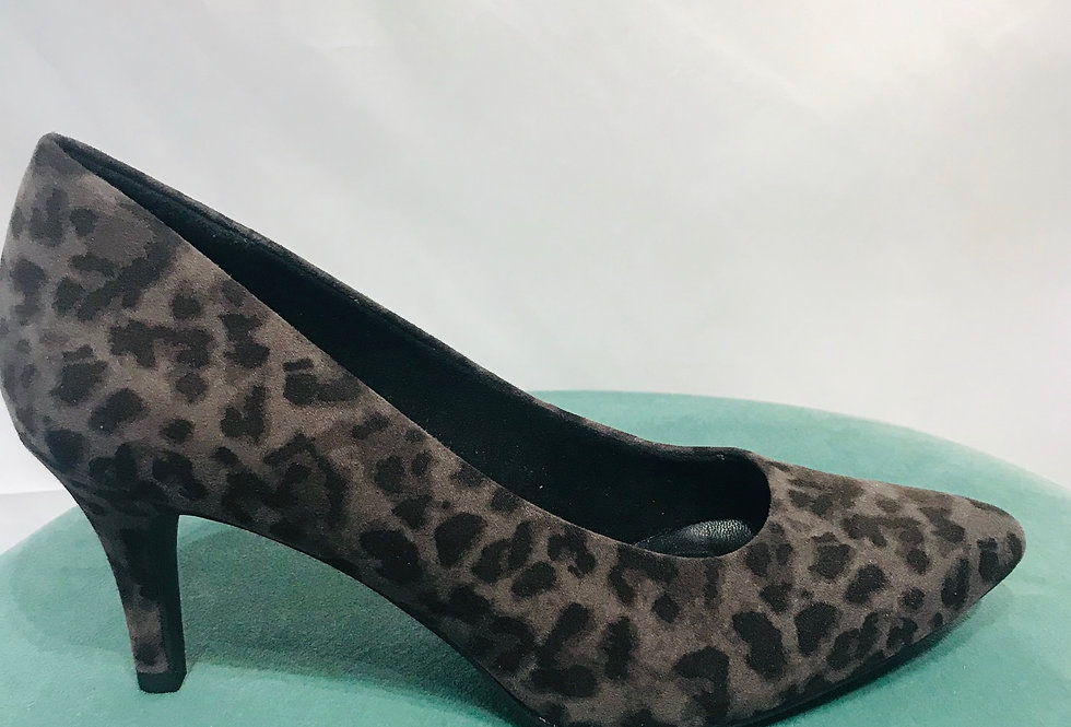 Animal Print Court Shoe