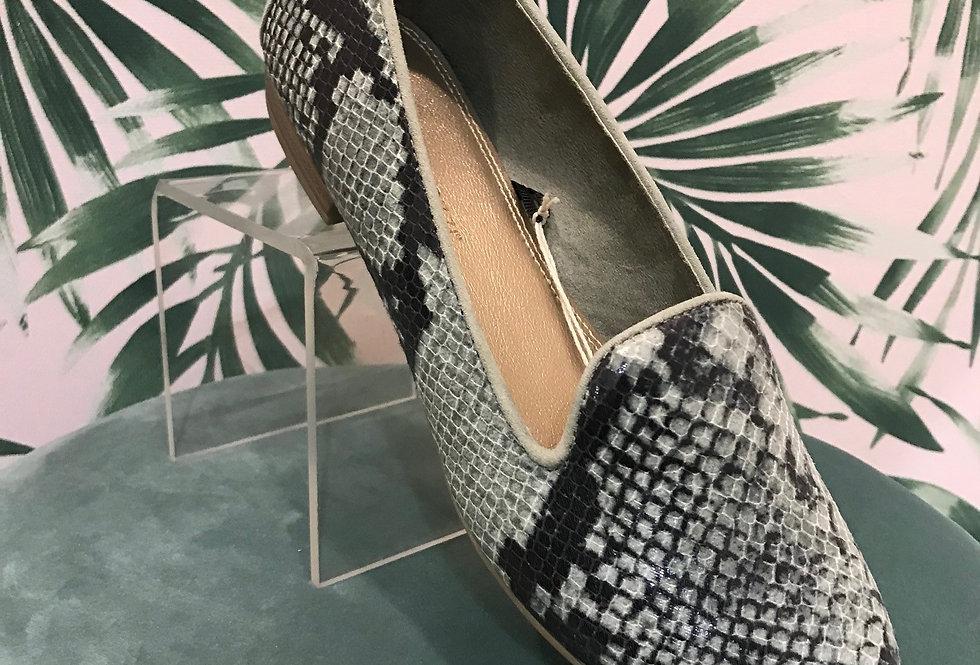 Flat Sage Loafer