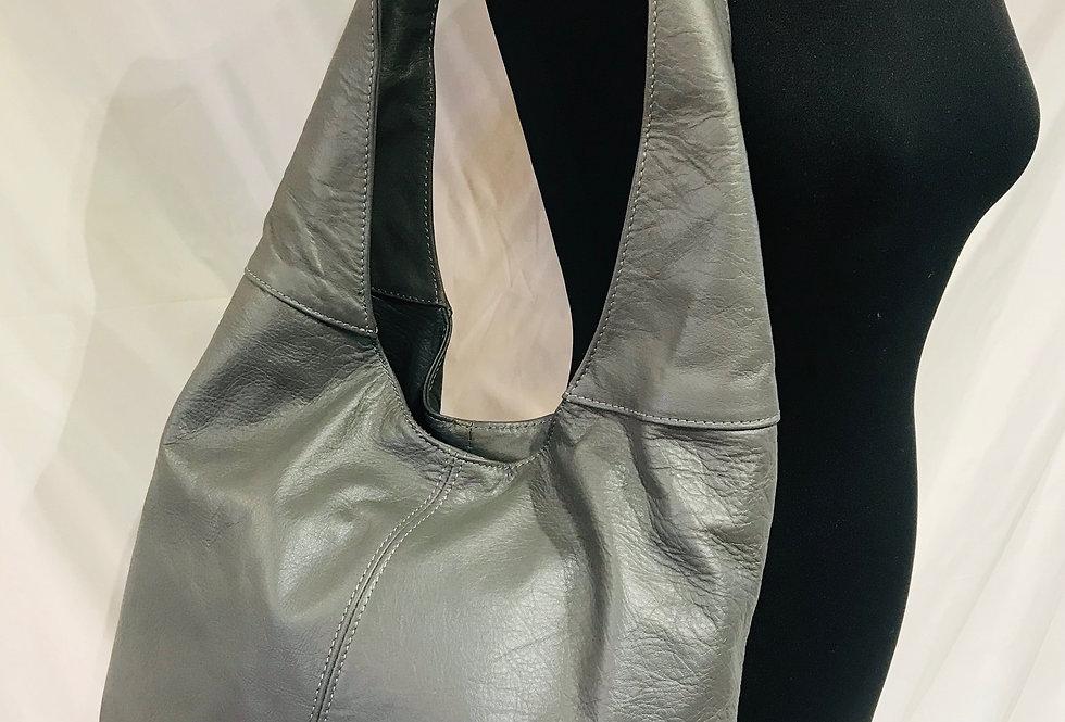 Grey Slouch Bag