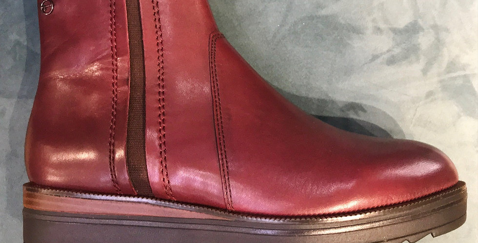 Bordeaux Chunky Boot