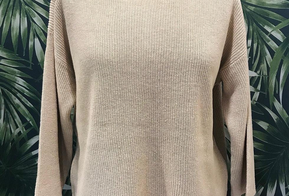 Natural Linen Jumper