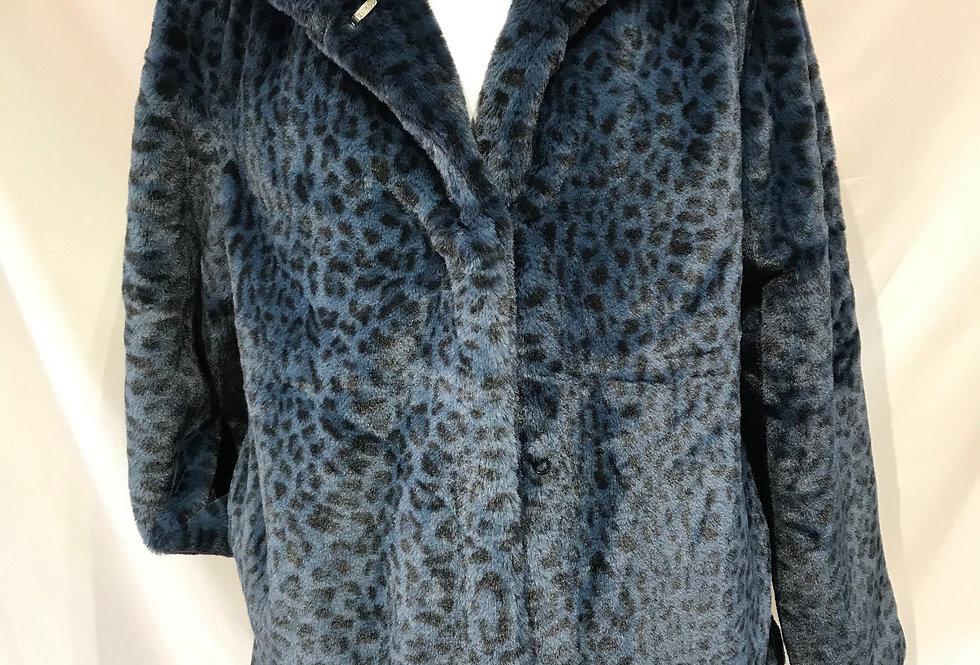 Blue Leopard Fur