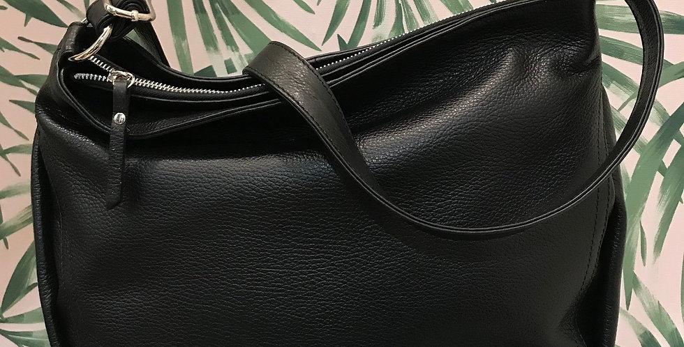 Zip Leather Bag