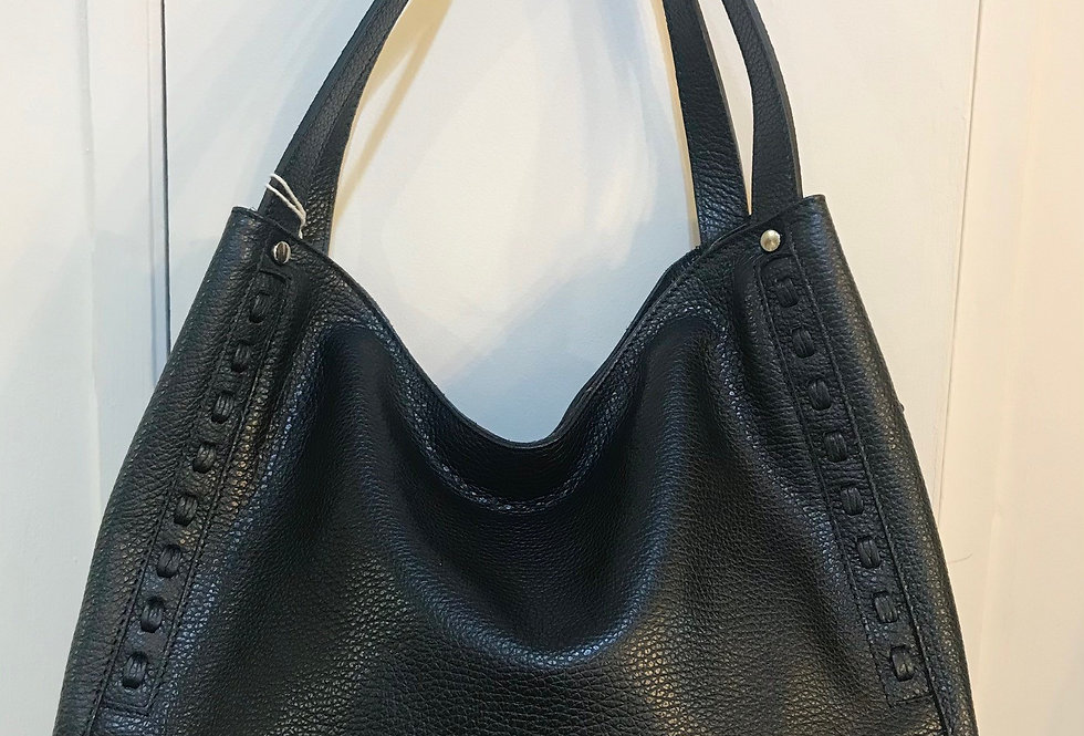 Detailed Leather Bag