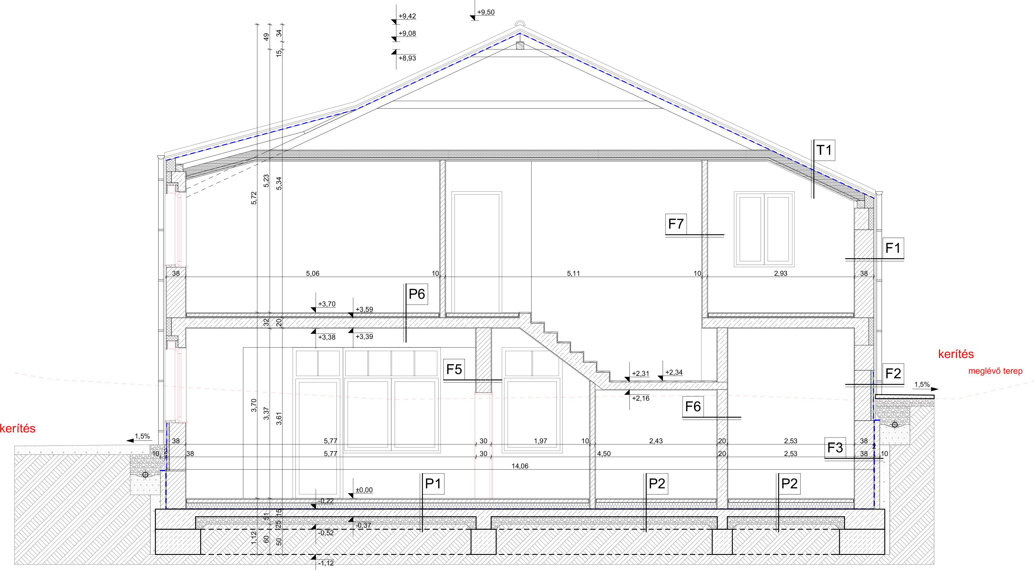 Éntér design Építészeti terv