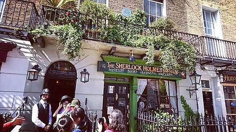 The Sherlock Holmes Walking Tour