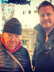 Bert Large from Doc Martin with Richard Chambers