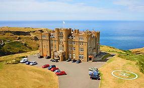 Castle Hotel Doc Martin TV Location