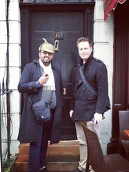 Sherlock Holmes Fan on Walking Tour London