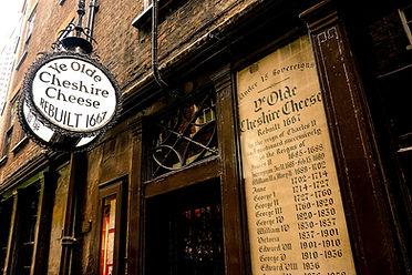Ye Olde Cheshire Cheese Pub