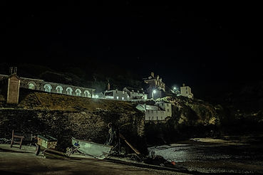 Port Issac At Night