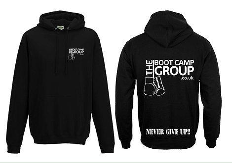 Black Bootcamp Hoodie