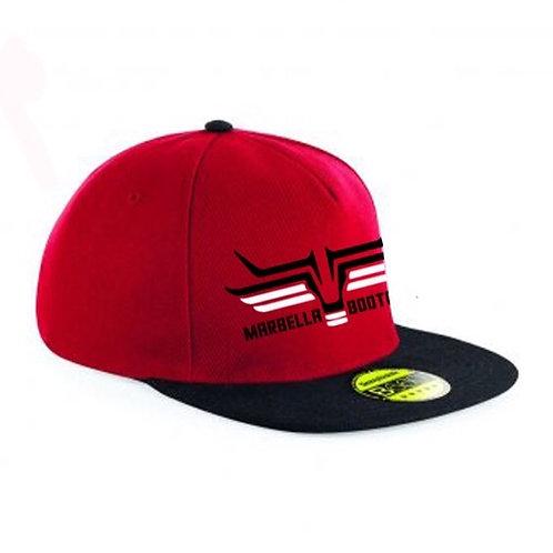 Red Marbella Bootcamp Cap