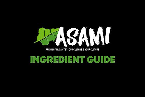 Free ASAMI Ingredient Guide