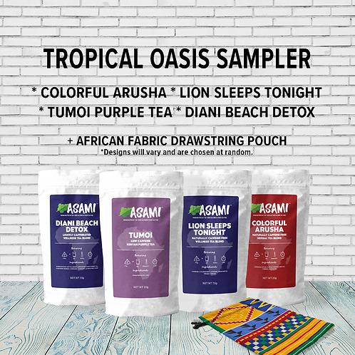 Tropical Oasis Sampler