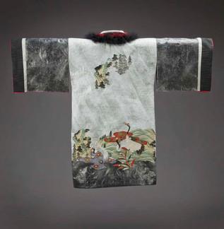 Winter Kimono Robe - Back
