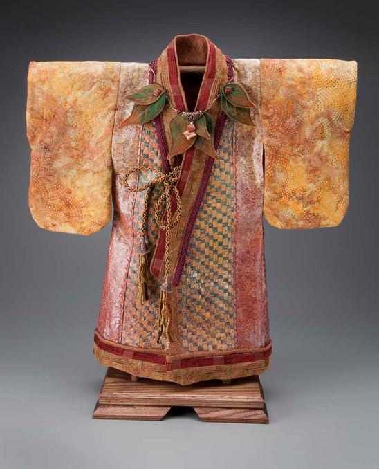 Autumn Kimono Robe - Front