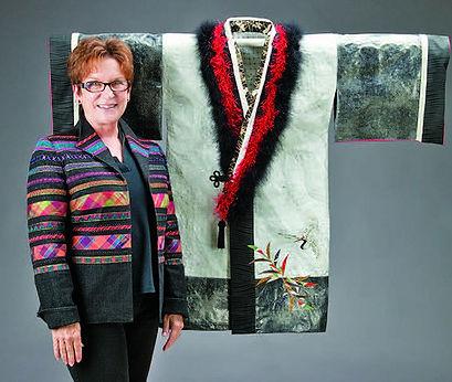Donna Tronca's Winter Kimono Robe