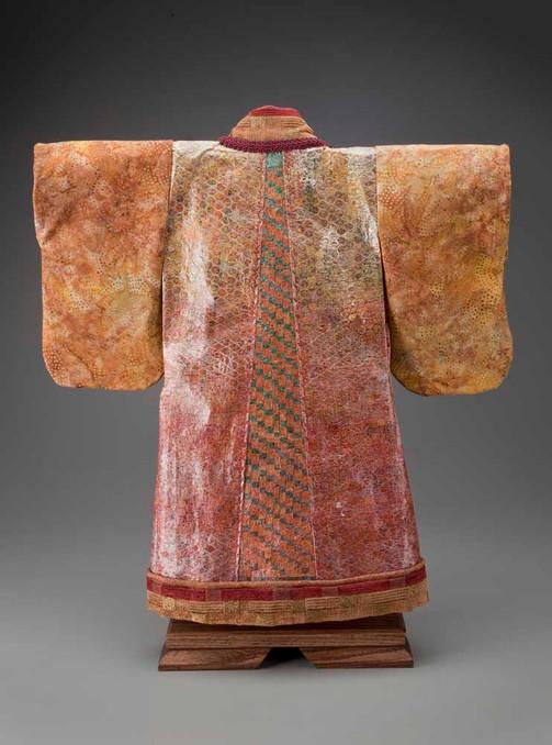 Autumn Kimono Robe - Back