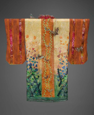 Flutterby Kimono Robe - Back