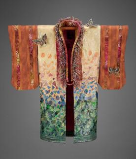 Flutterby Kimono Robe - Front