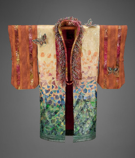 Flutterby Kimono Robe - Front