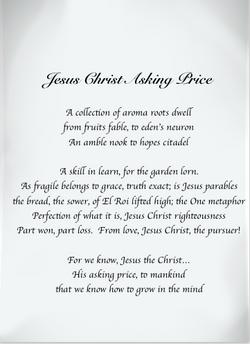 Jesus Christ Asking Price