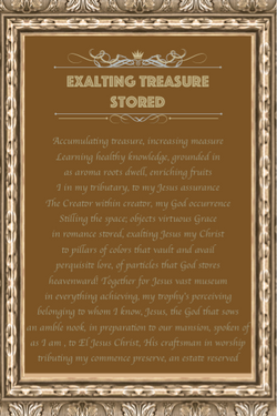 Exalting Treasure Stored