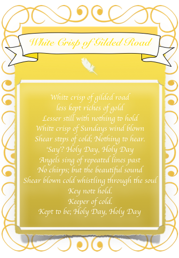 White Crisp of Gilded Road