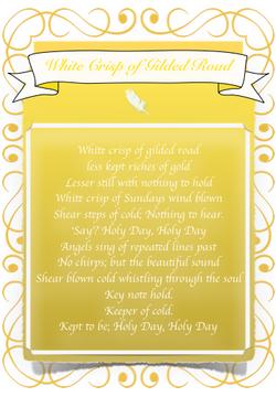 White Crisp of Gilded Road