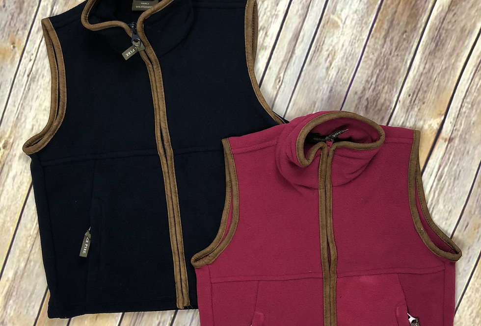 Childrens Fleece Gilet