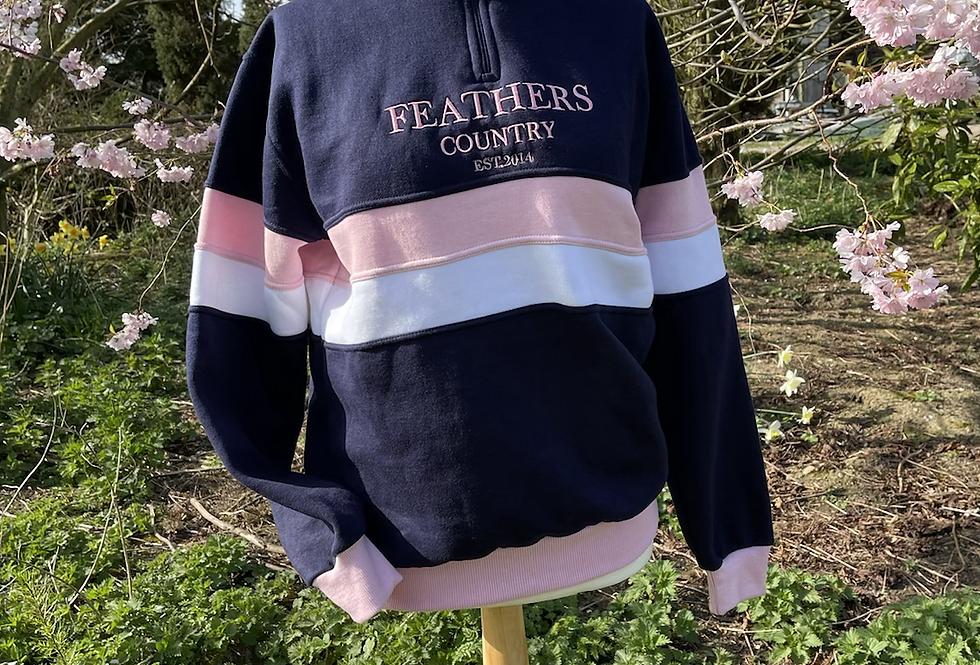 Hotham  Ladies 1/4 Sweatshirt