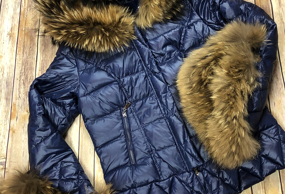 Chelsea Quilted Down Jacket
