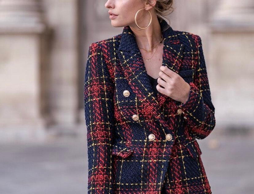 Windsor Multi Knit Double Breast Blazer