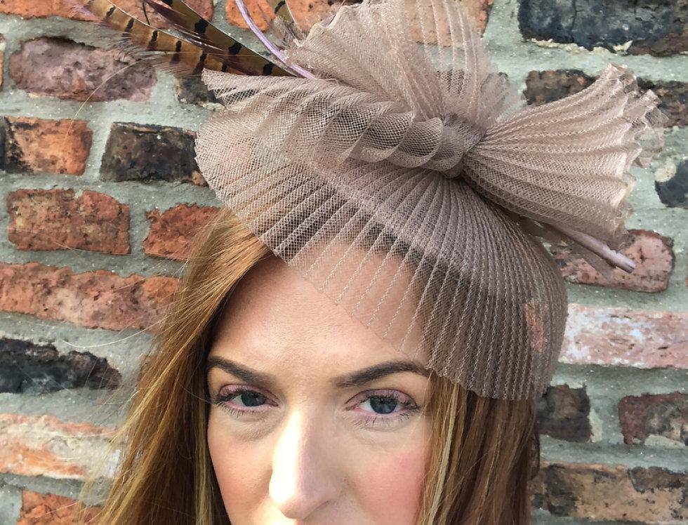 Mollie Mink Feather Fascinator