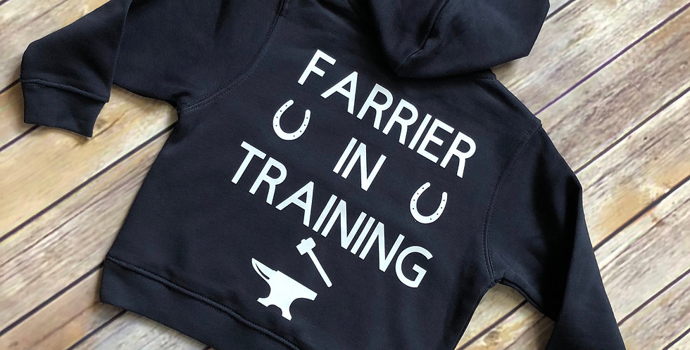 Farrier In Training Hoodie
