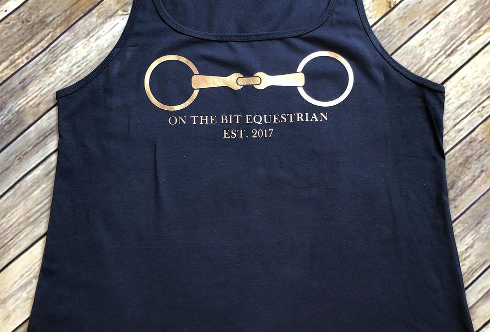 On The Bit- Metallic Vest Top