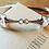 Thumbnail: Stirling Silver Snaffle Bracelet
