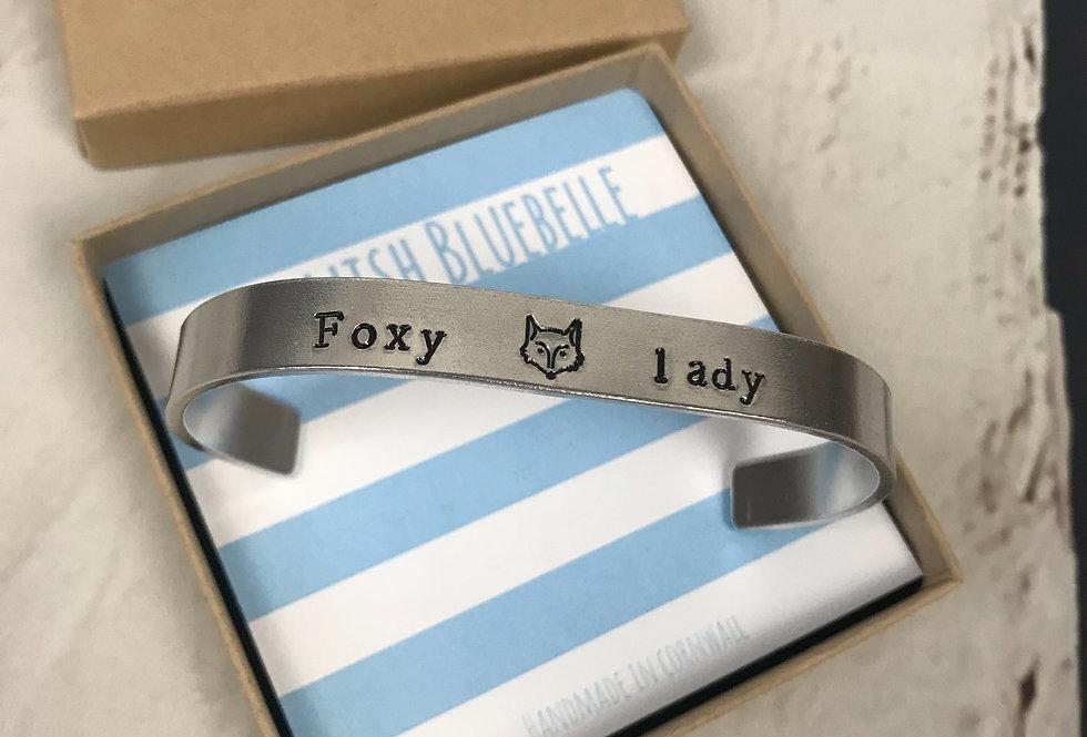 Foxy Lady Cuff Bracelet