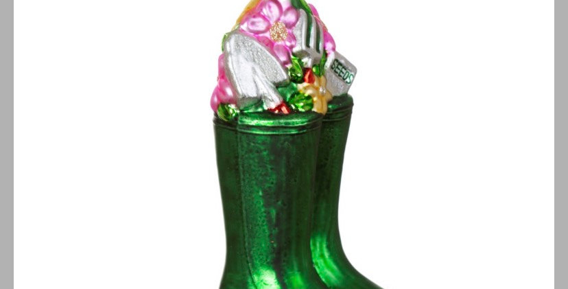 Wellington Boot Shaped Bauble