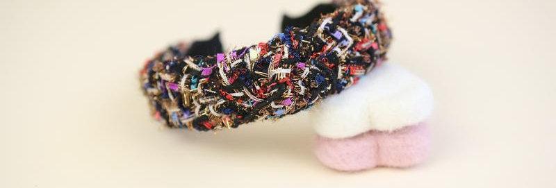 Emma Black Headband