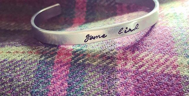 Game Bird Cuff Bracelet